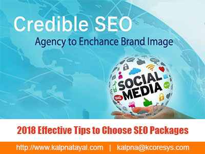 2018 Effective Tips to Choose SEO Packages
