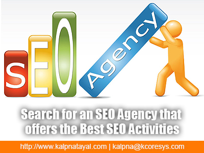 Search for an SEO Agency that offers the Best SEO Activities