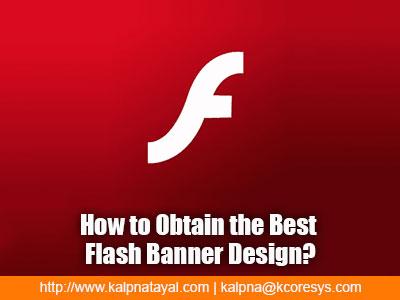 Flash Banner design